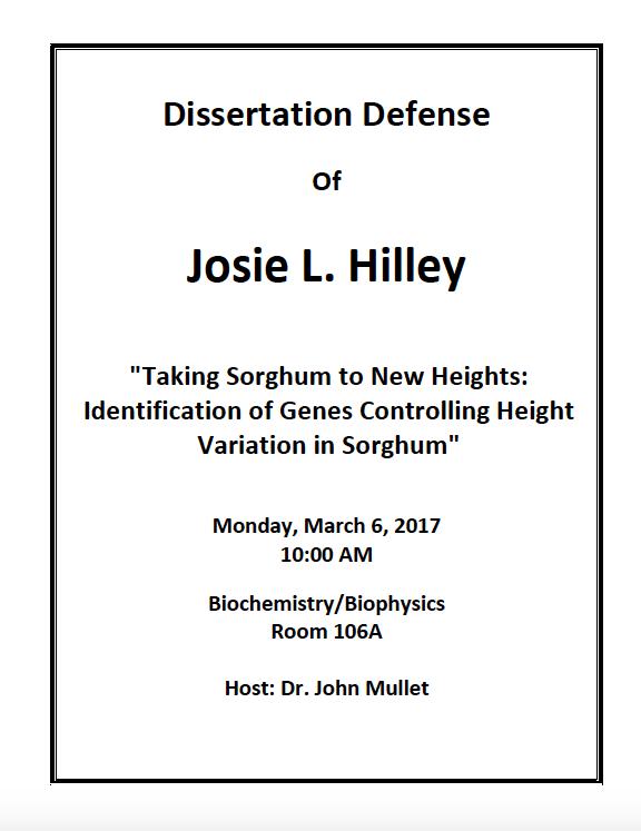 Josie Defense